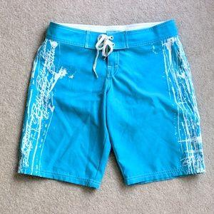 Billabong teal board shorts